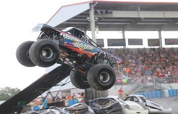 Monster Truck Thrills Invade Carlisle